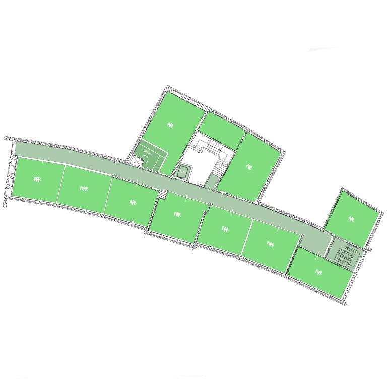 De Witte Vleugel - 1e verdieping