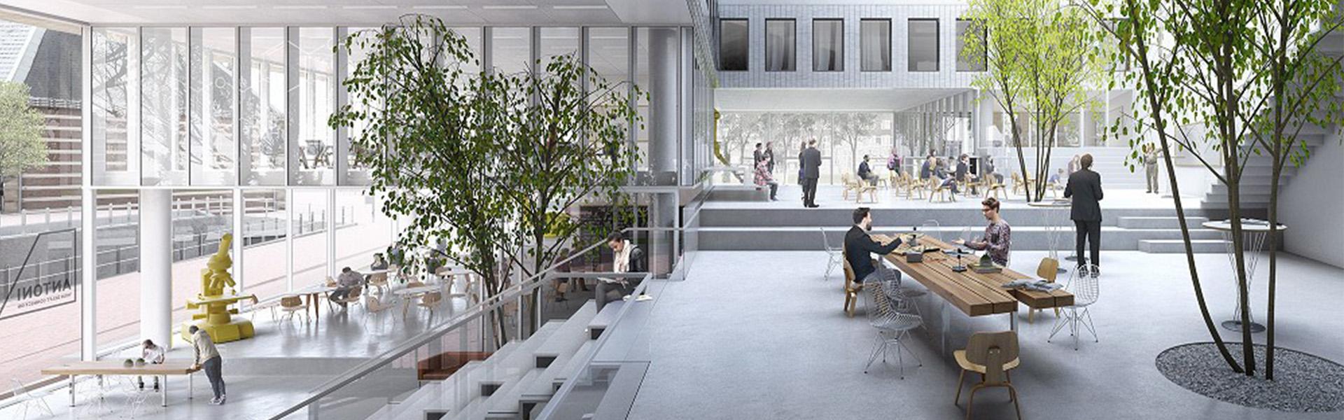 Antoni Delft - Living Lobby Podium