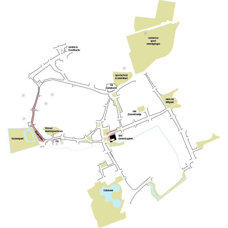 Boelthiek 2.0: Centrale ligging Gerardusplein