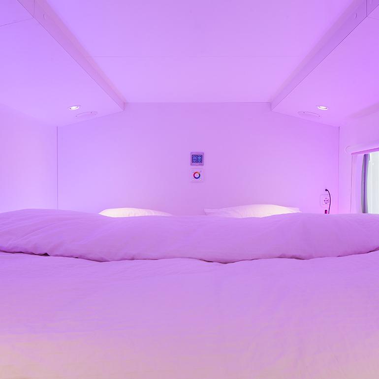 CityHub Amsterdam - bed