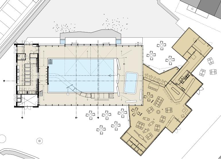 Zwembad De Wijde Blick - plattegrond