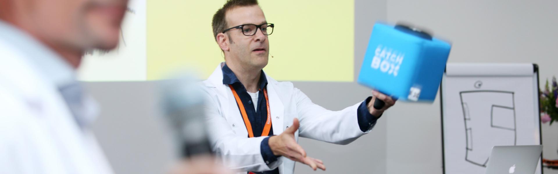 Michel van De Plekkenmakers op de Provada