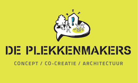 De Plekkenmakers: concept / co-creatie / architectuur