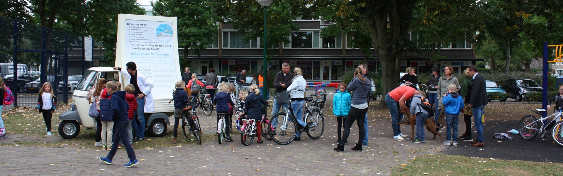 Dromenlab de wetering - op het schoolplein