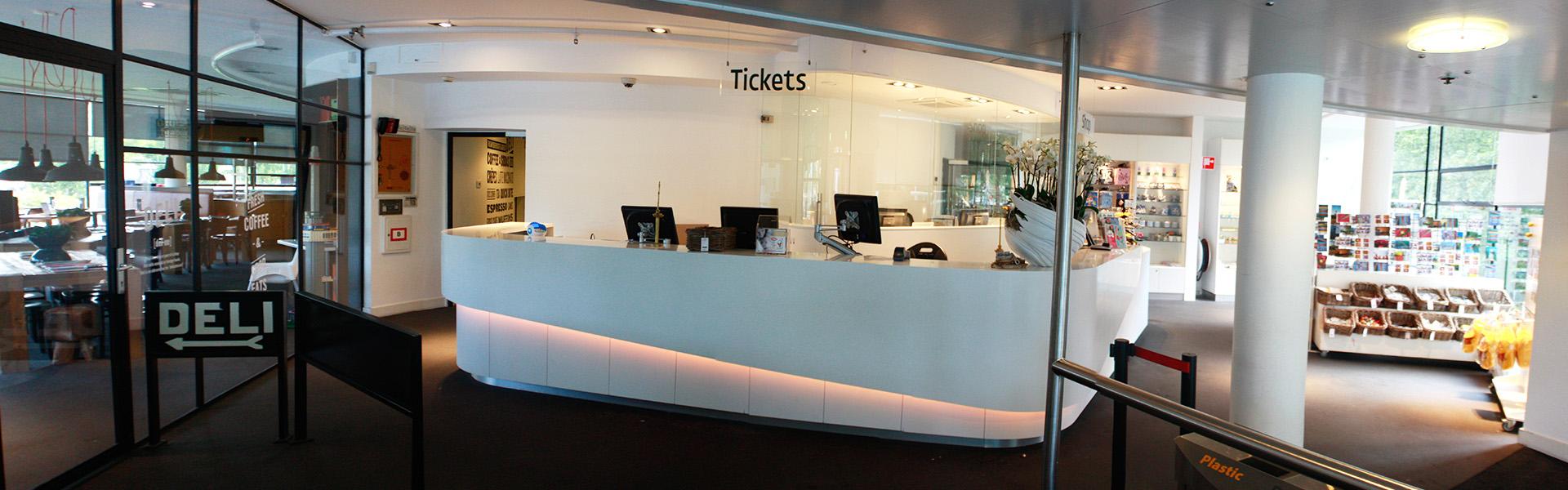 Euromast Rotterdam - frontoffice & shop