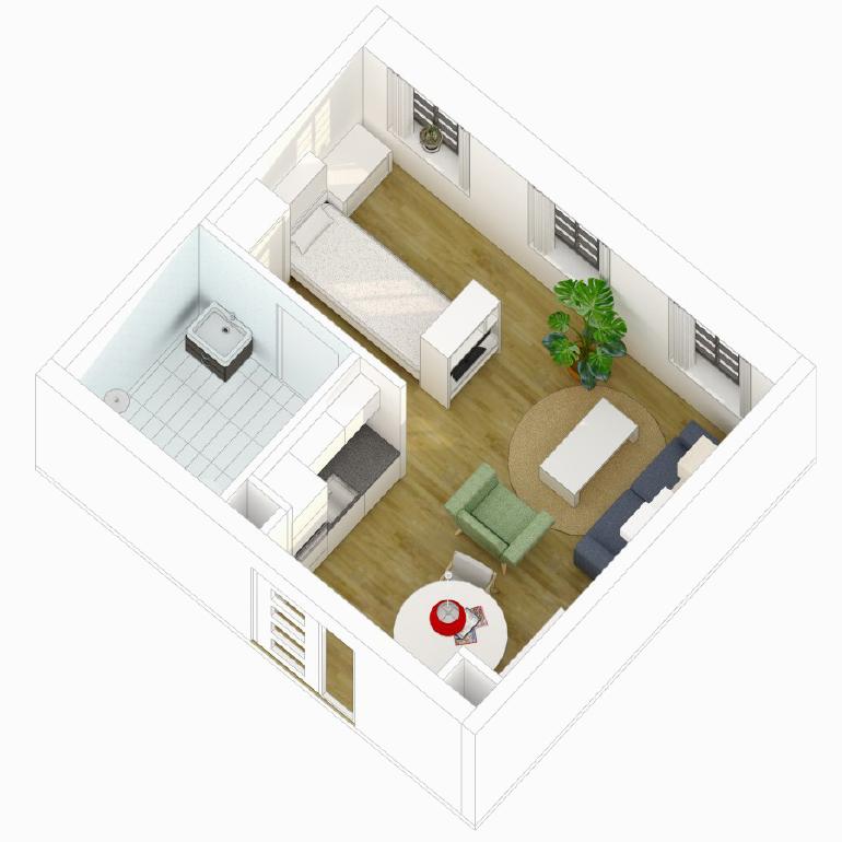 De Witte Vleugel - appartement