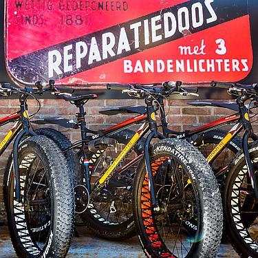 LEO's fat bikes