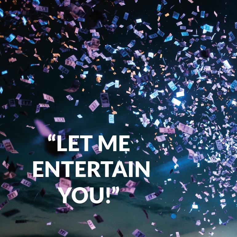 Bwefar: let me entertain you