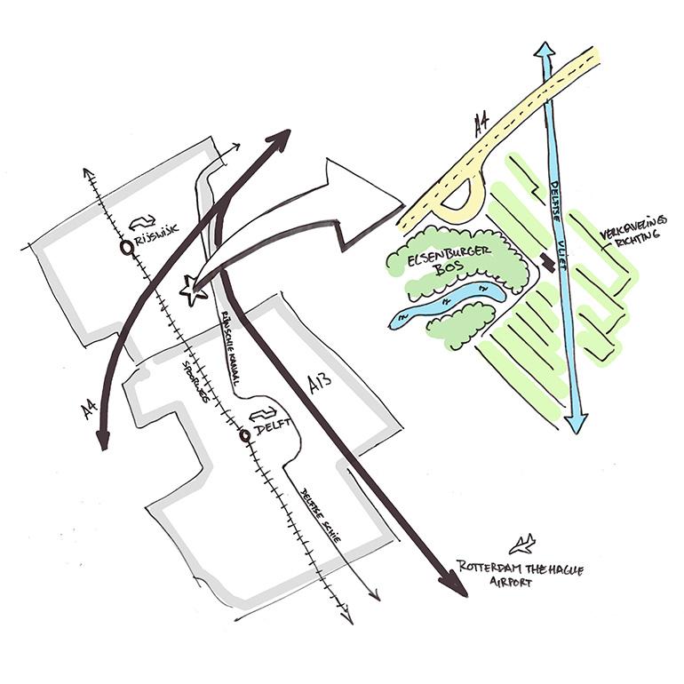 Herberg Vlietzigt - Analyse bereikbaarheid