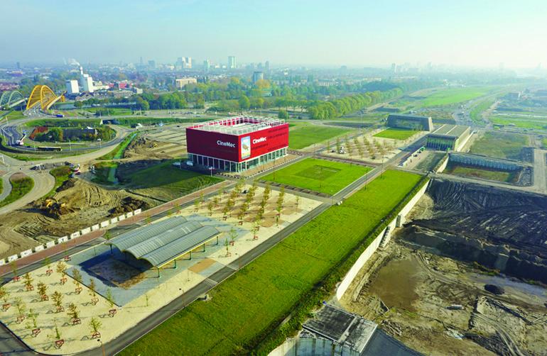 CXL Leidsche Rijn: luchtfoto Leidsche Rijn Centrum