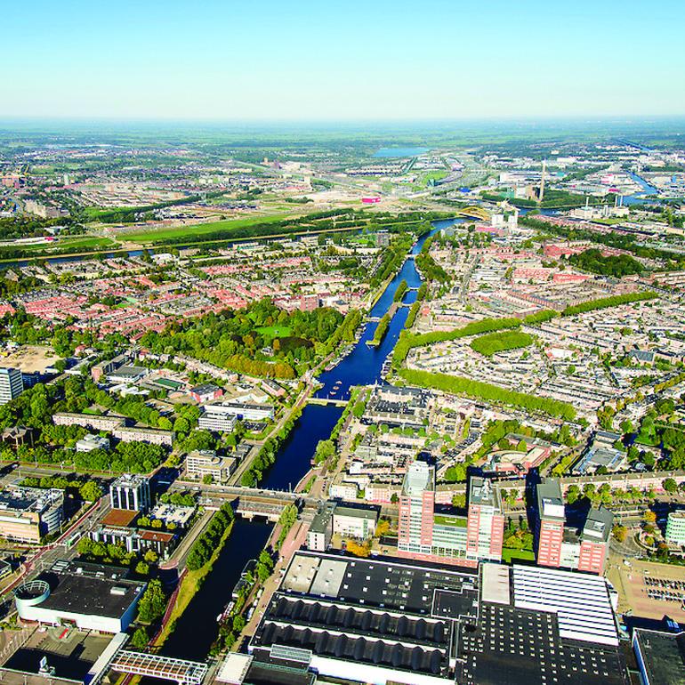 CXL Leidsche Rijn: luchtfoto