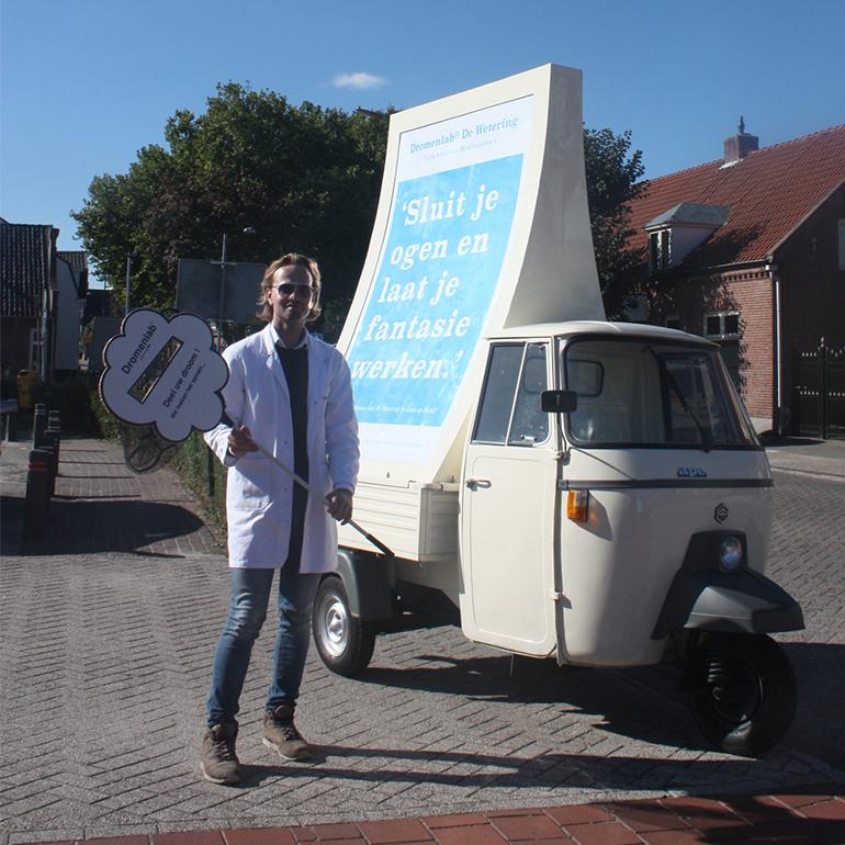 Dromenlab de wetering - mobile abri