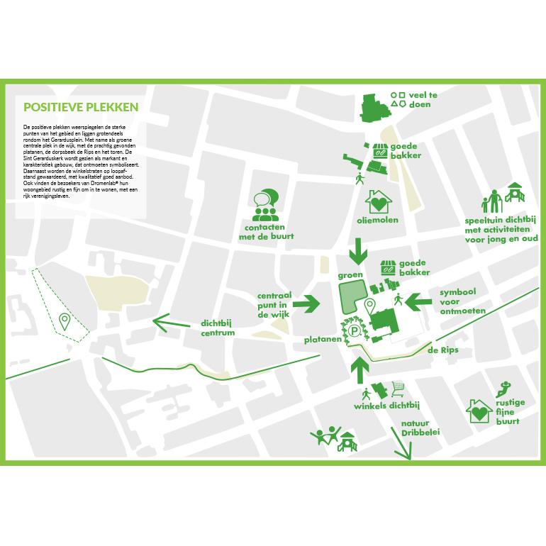 Dromenlab Gerardusplein - Positieve plekken