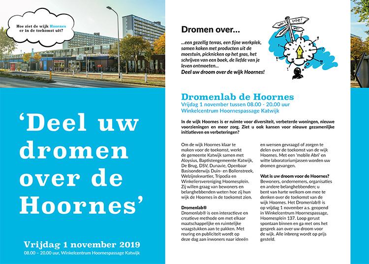Dromenlab de Hoornes - Poster