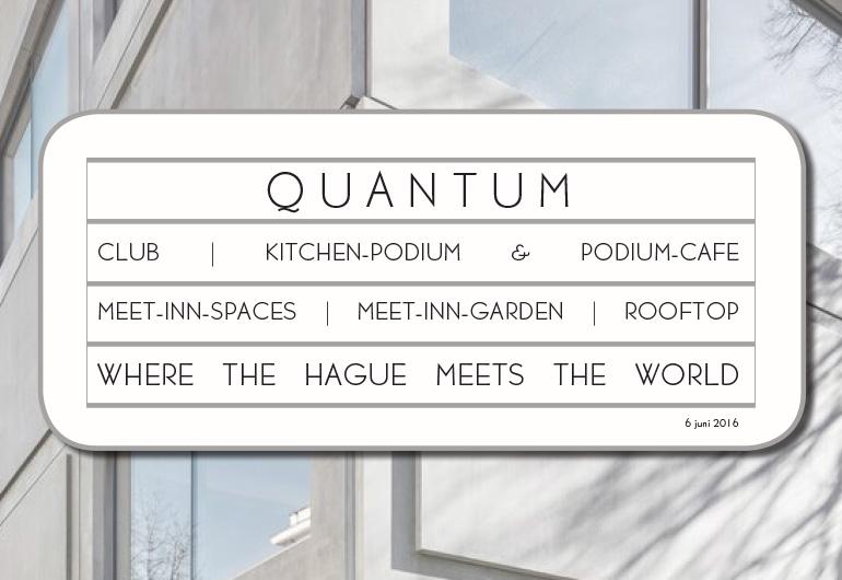 Quantum Den Haag - aankondiging