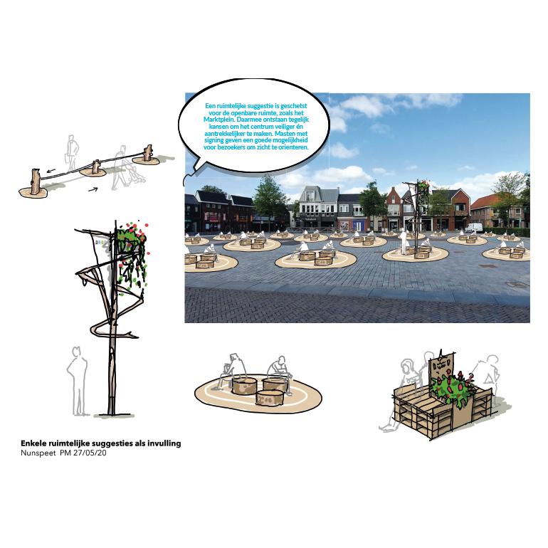 Centrumplan Nunspeet: ruimtelijke suggesties