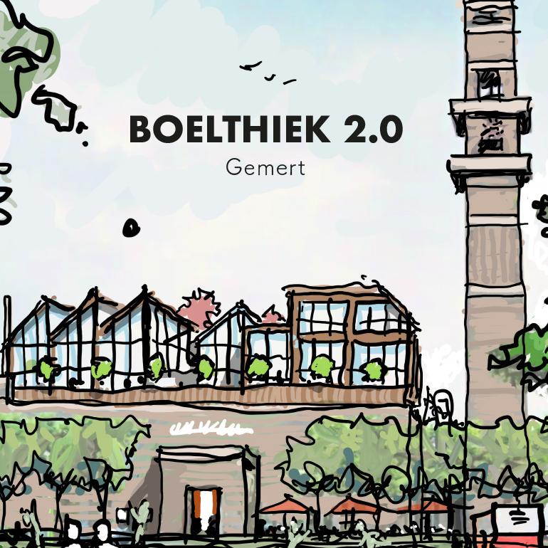 Boelthiek 2.0: Schets impressie