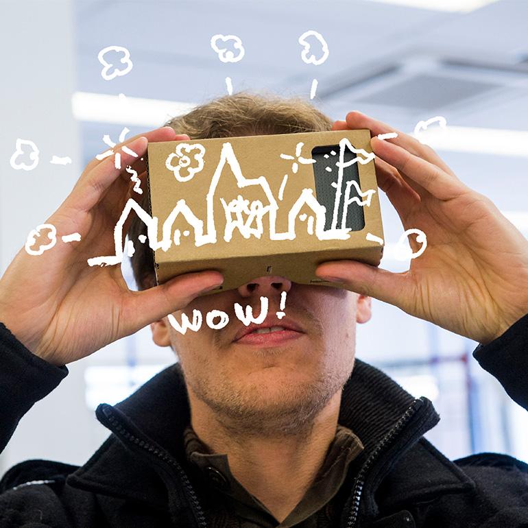 Dromenlab heeft een groot bereik doordat het Dromenlab ook dromen vangt van mensen op straat