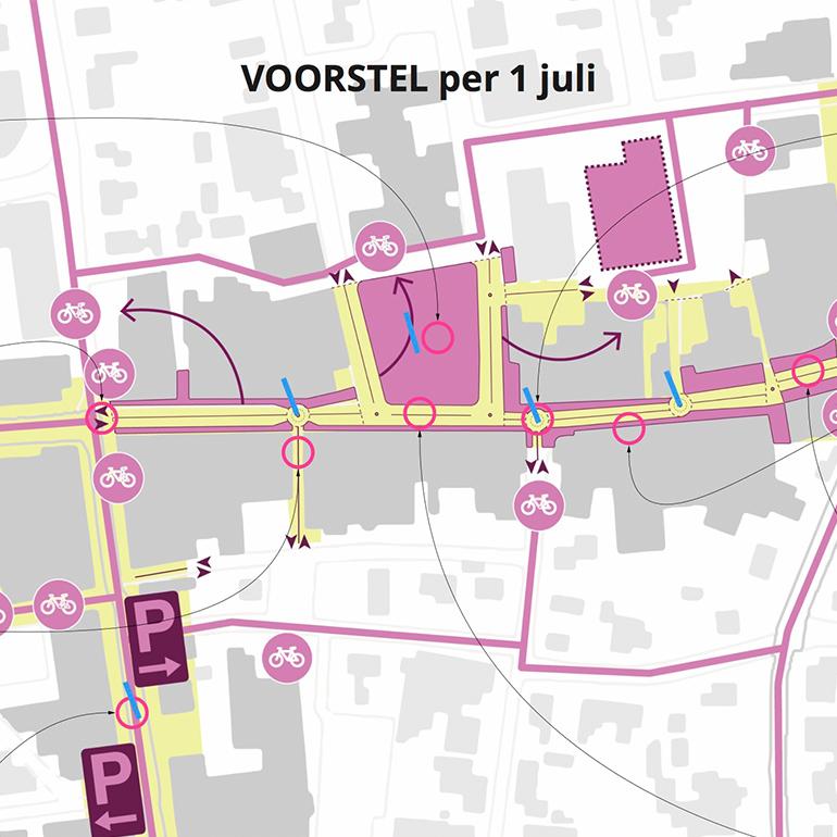 Centrumplan Nunspeet: ruimtelijk voorstel