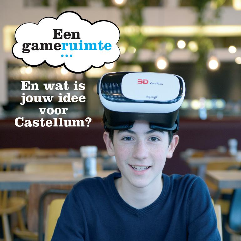 Stadsgesprek Castellum - aankondiging