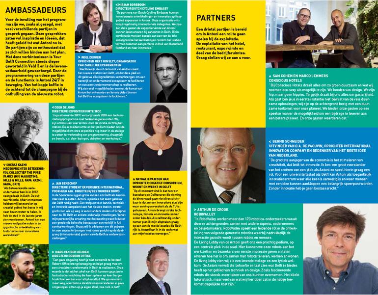 Antoni Delft - ambassadeurs en partners