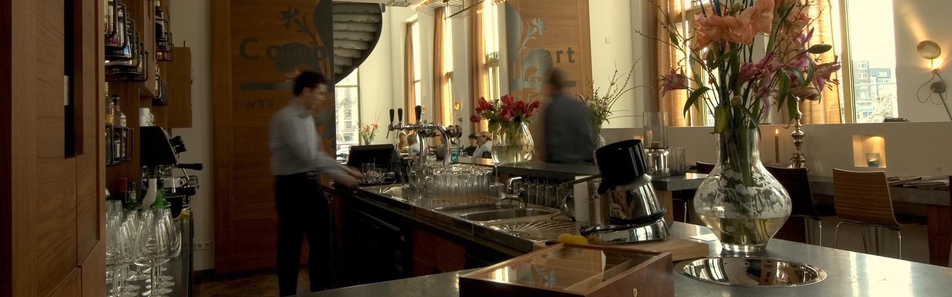 Restaurant De Coopvaert Rotterdam - bar