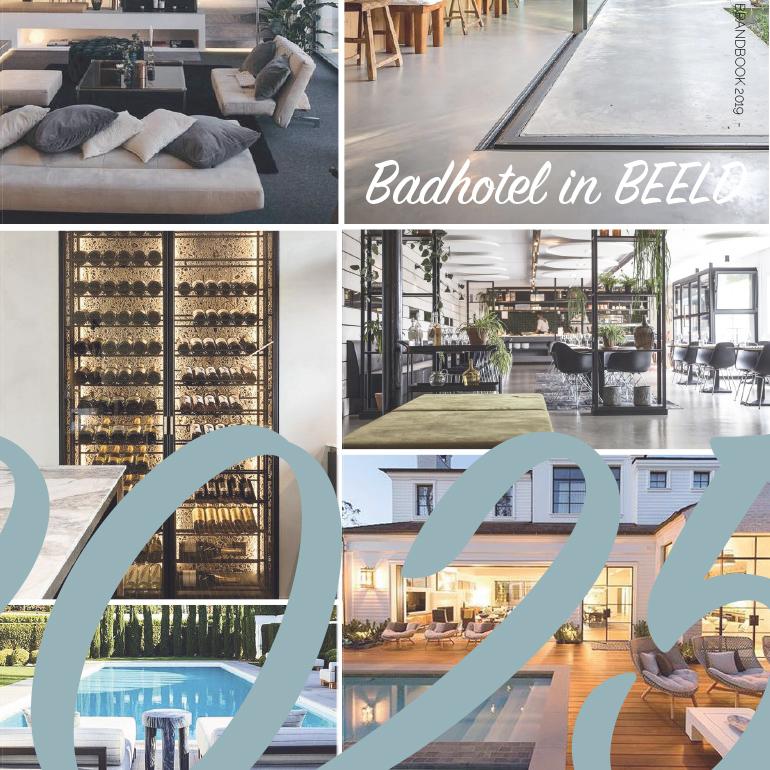 Badhotel Renesse: moodboard