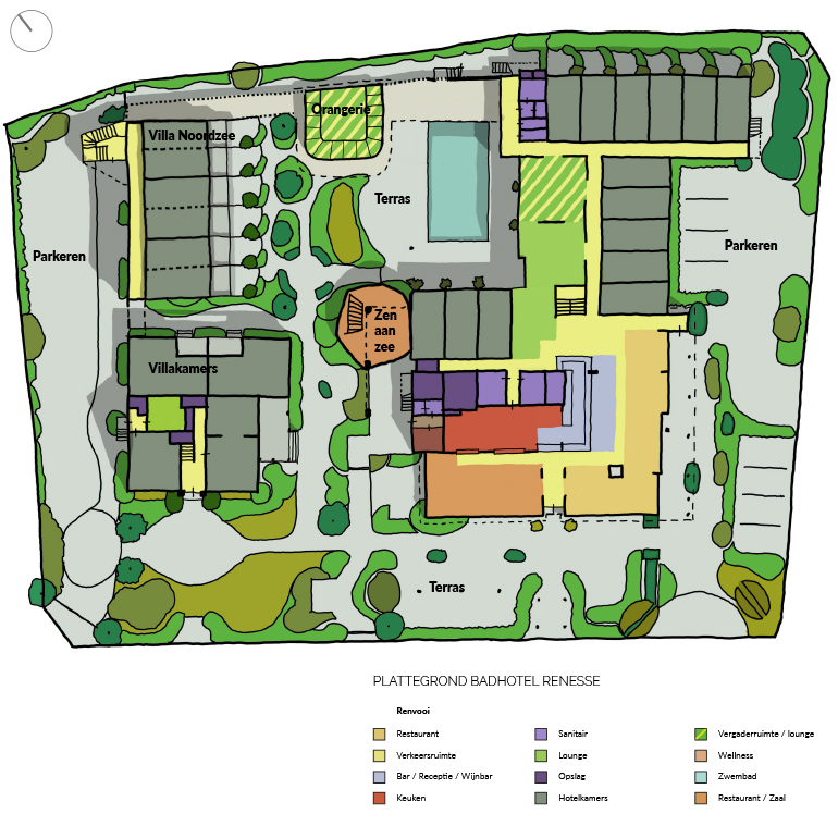 Badhotel Renesse - Masterplan