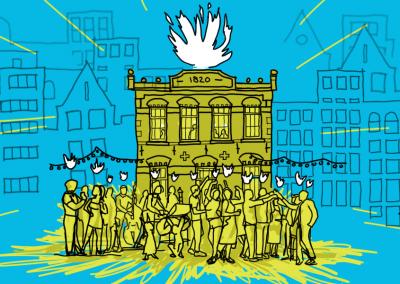 ZOEKEN NAAR DE ZIEL: over verhalen ophalen en plekken maken
