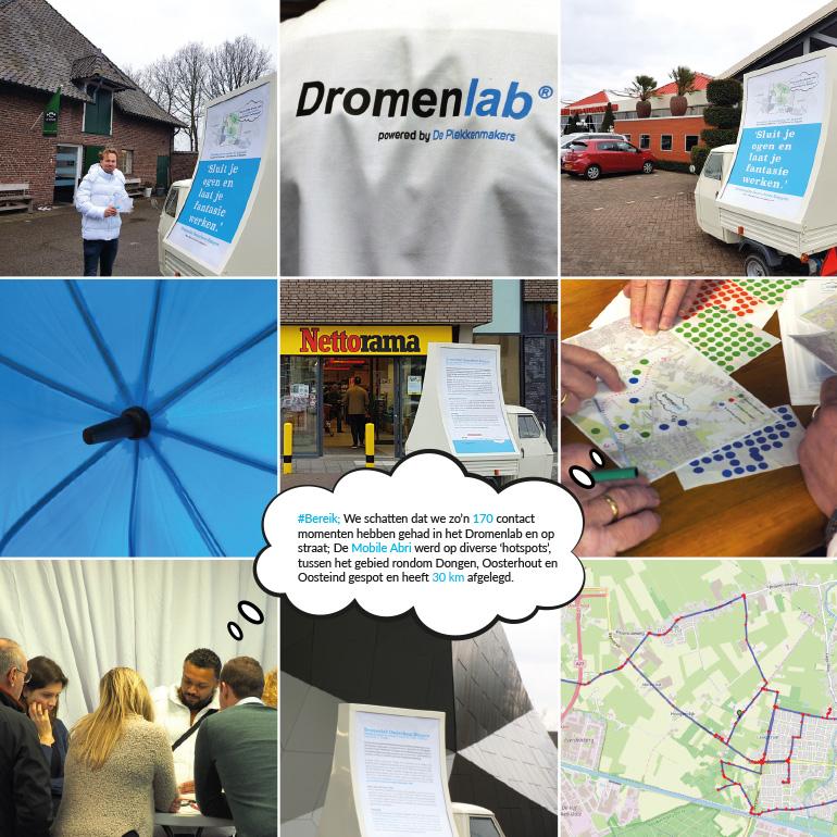 Dromenlab Oosterhout-Dongen - collage abri