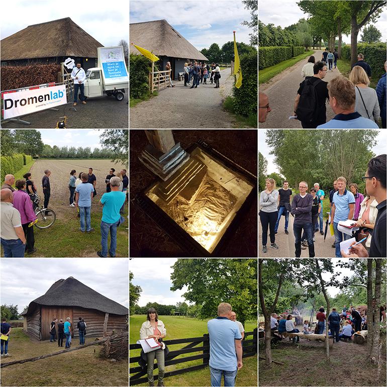 MAAKlab Oosterhout-Dongen - collage wandeling