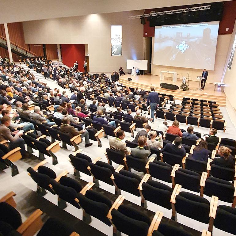 Transformatiecongres Rotterdam - congreszaal