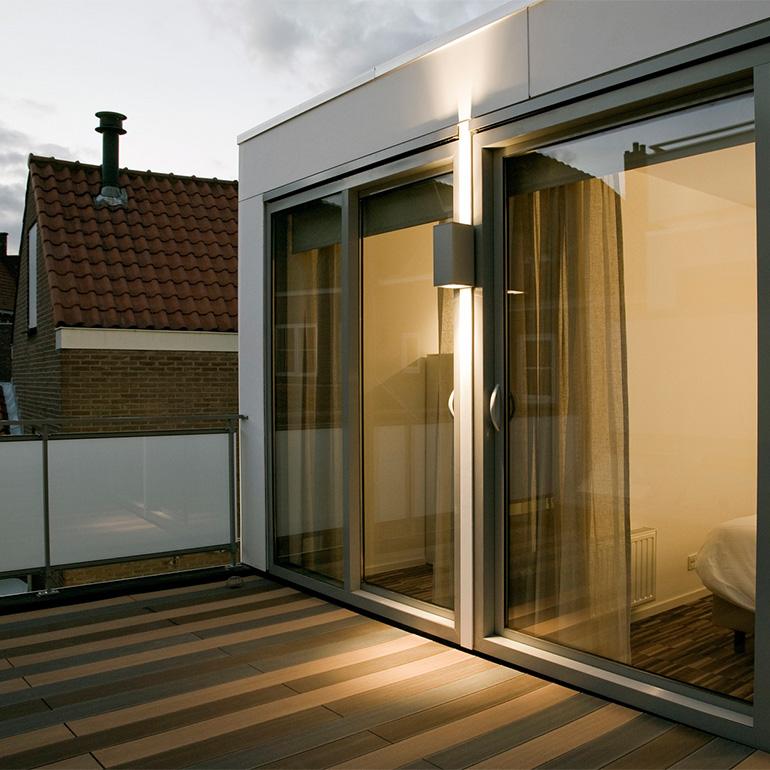Lange Delft Middelburg - dakterras