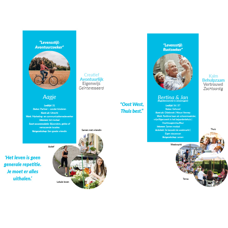 Dromenlab Nunspeet: doelgroep avontuur en rustzoeker
