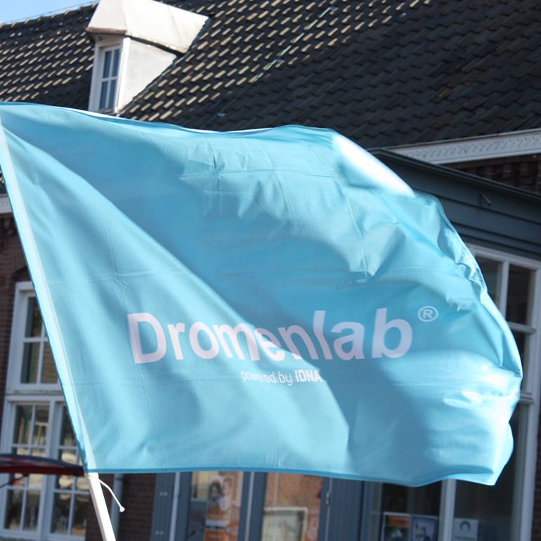 Dromenlab de wetering - vlag