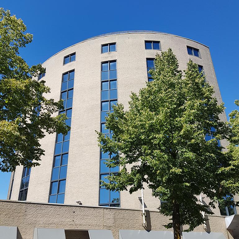 Hotel Den Haag-Voorburg: het gebouw