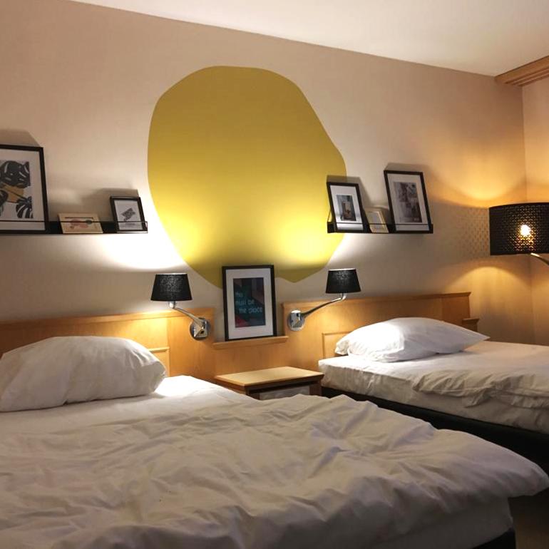 Hotel Den Haag-Voorburg: pilot hotelkamer
