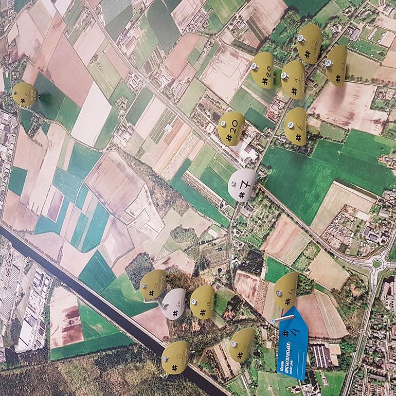 MAAKlab Oosterhout-Dongen - kaart met initiatieven