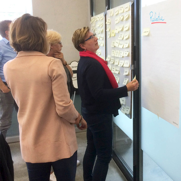 Sfeersessie MFA Dongen - interactieve identiteitsessie