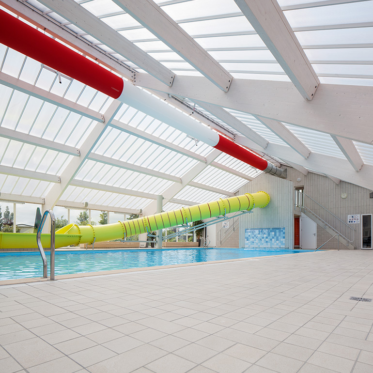 Zwembad De Wijde Blick - interieur