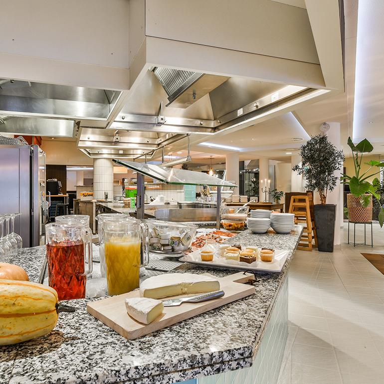 Hotel Den Haag-Voorburg: buffet