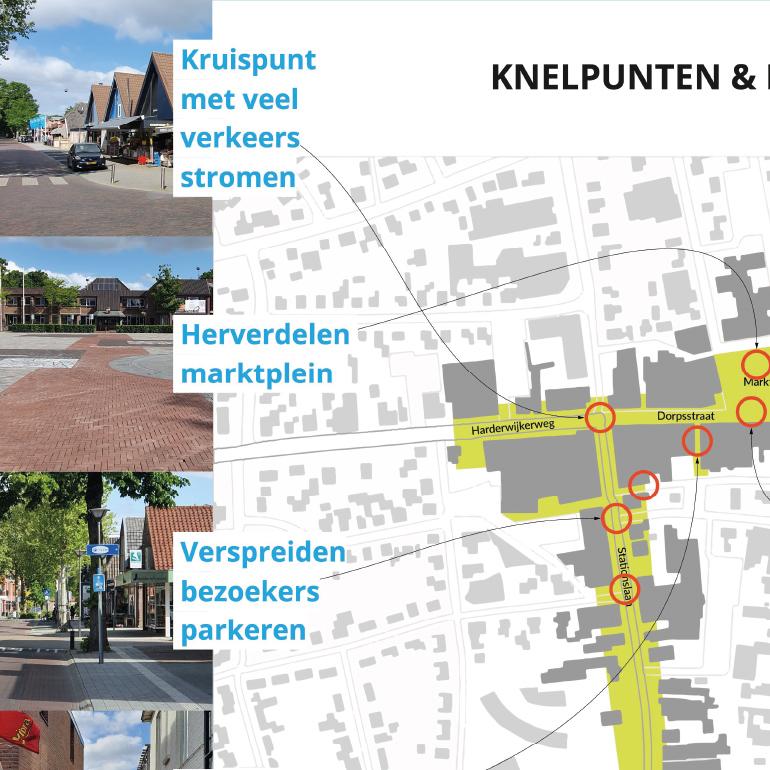 Centrumplan Nunspeet: knelpunten