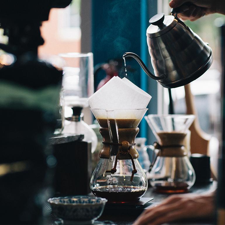 Big V Store, koffiecorner