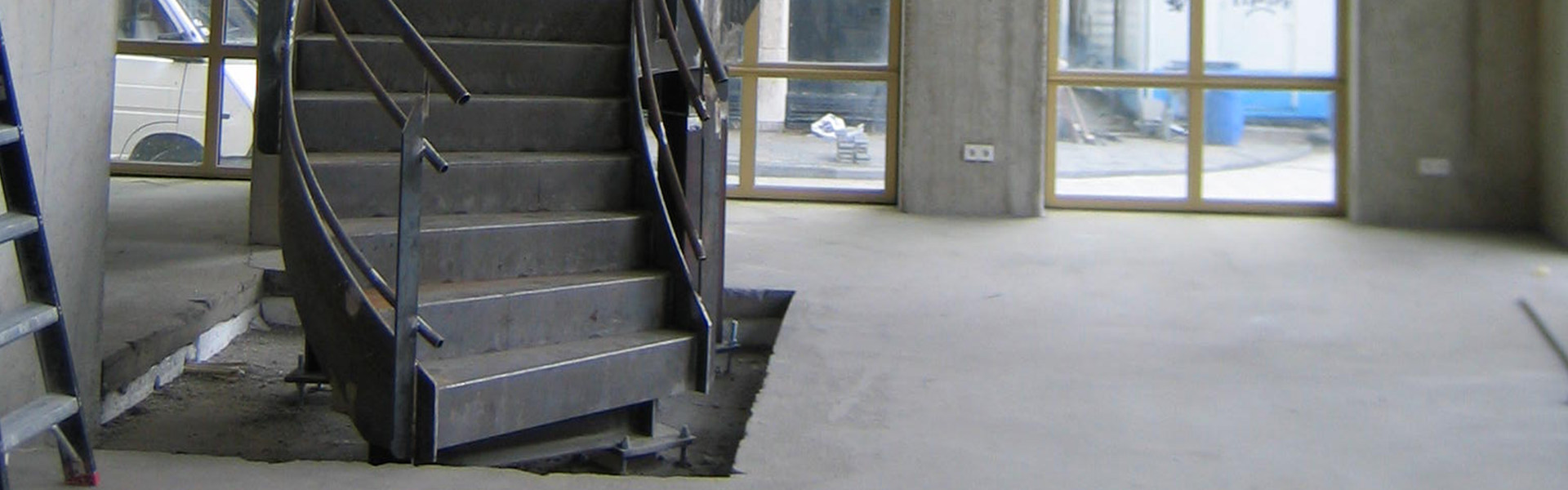 Restaurant De Coopvaert Rotterdam - levering trap