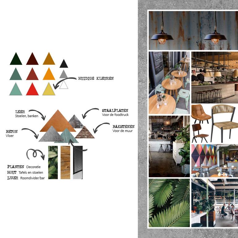 Rebelz: materiaal- en kleurplan
