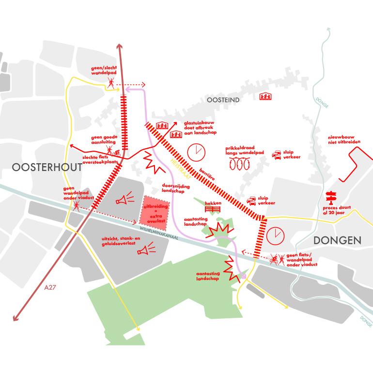 Dromenlab Oosterhout-Dongen - negatieve plekken