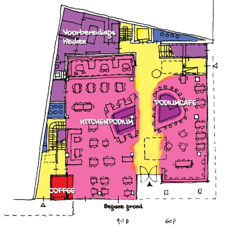Quantum Den Haag - plattegrond beganegrond