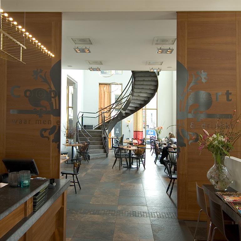 Restaurant De Coopvaert Rotterdam - schuifdeuren