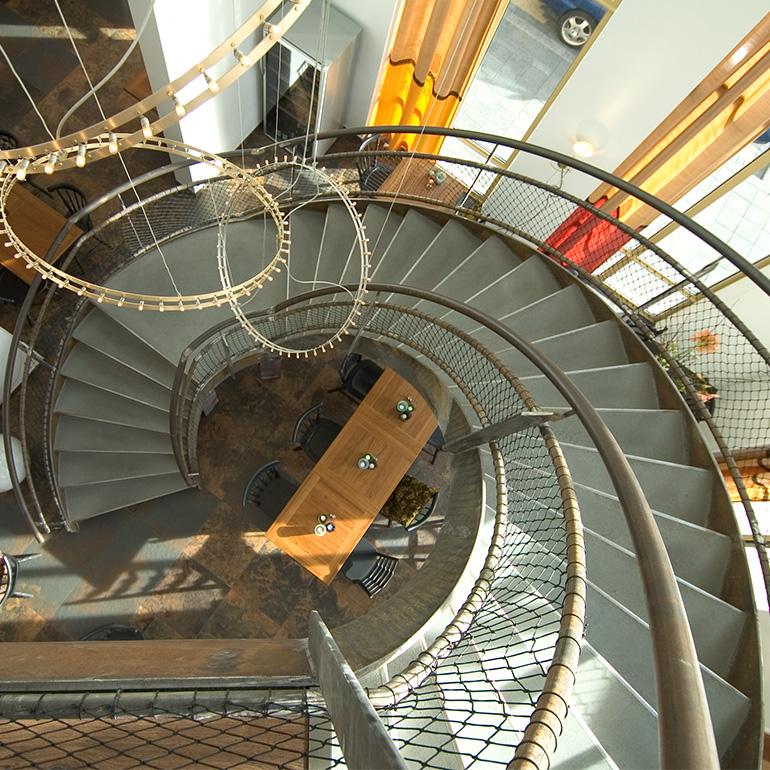 Restaurant De Coopvaert Rotterdam - trap