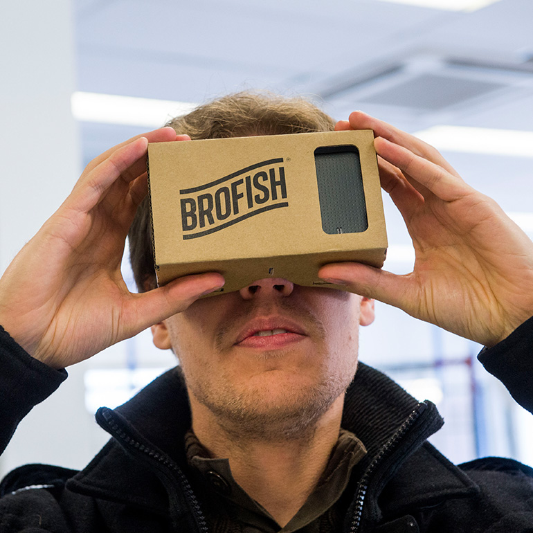 Maakplaats Schiedam - virtual reality bril